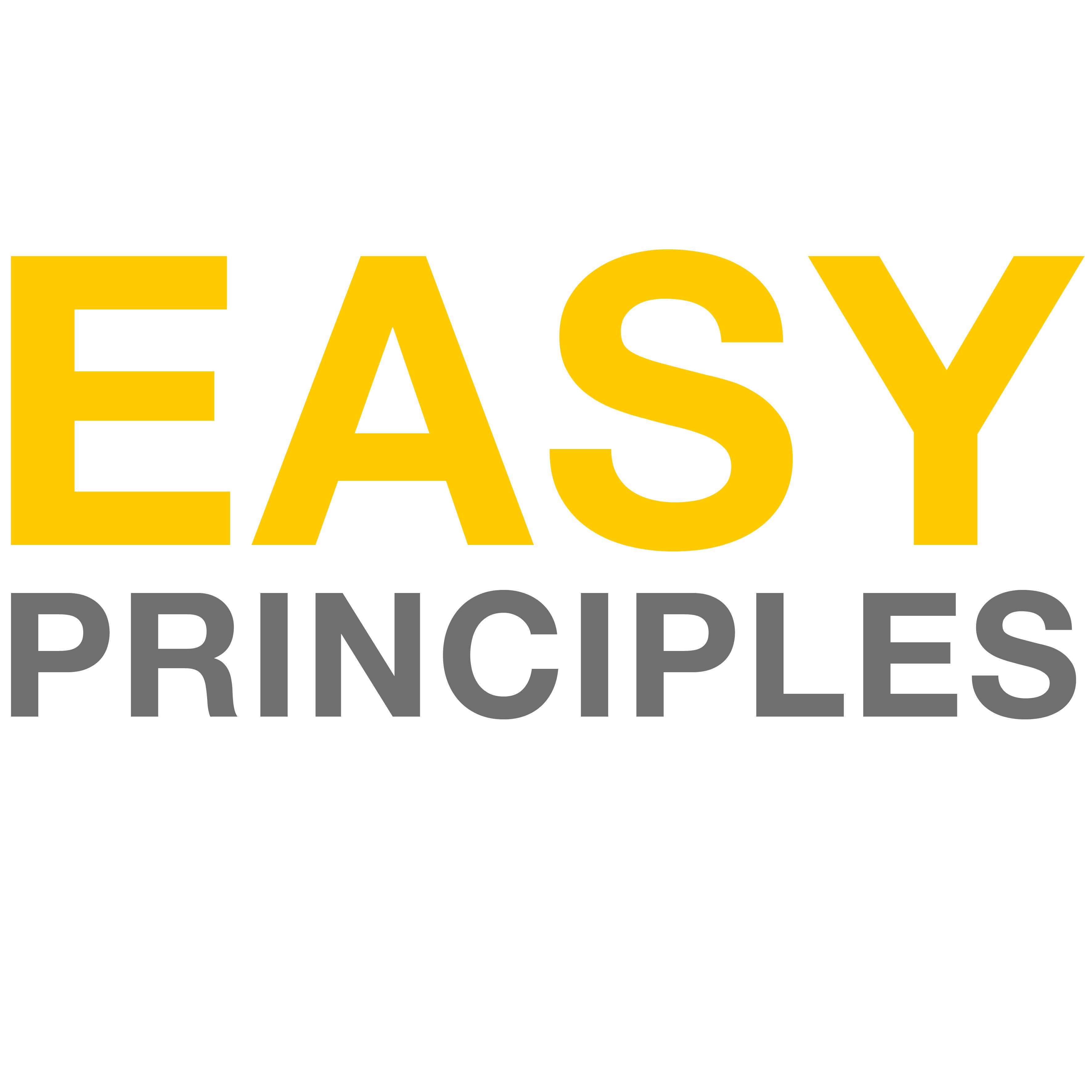 Easy Principles